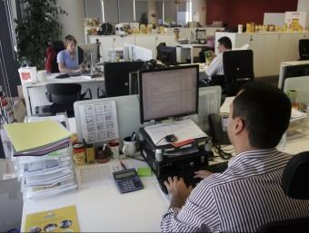 Una oficina d'una multinacional on es mesura la felicitat.  Foto:ARXIU