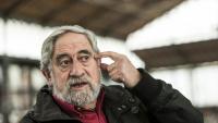 L'activista i insubmís Pepe Beunza, al centre cultural El Born de Barcelona