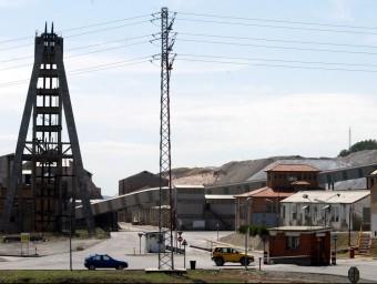 Vistes de la planta de potassa d'Iberpotash de Sallent, la que deixarà de funcionar per potenciar la de Súria GABRIEL MASSANA