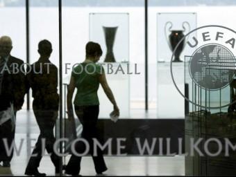 La seu de la UEFA a Nyon, en una imatge d'arxiu REUTERS