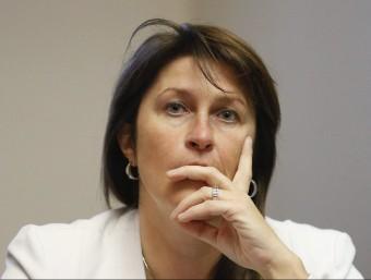 La fins ara ministra de Mobilitat de Bèlgica,Jacqueline Galant, en una imatge d'arxiu EFE