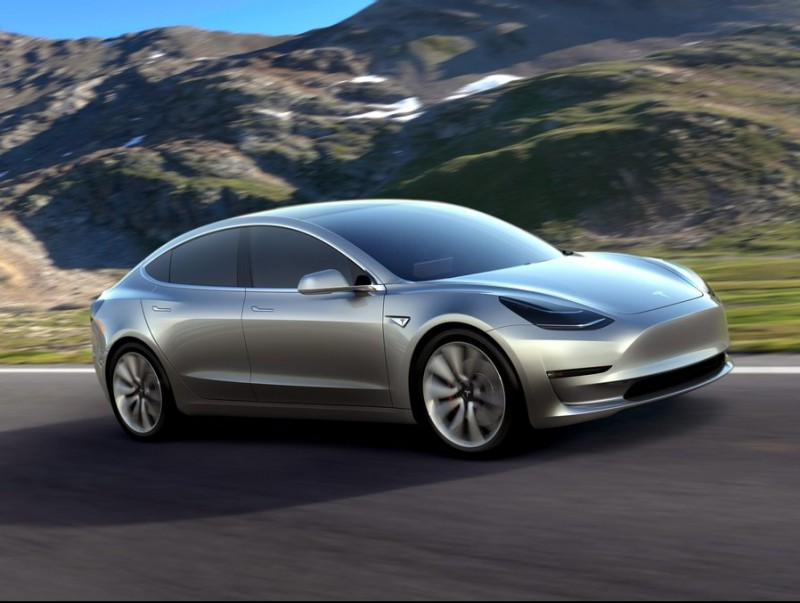 Tesla's Model 3  Photo:EFE