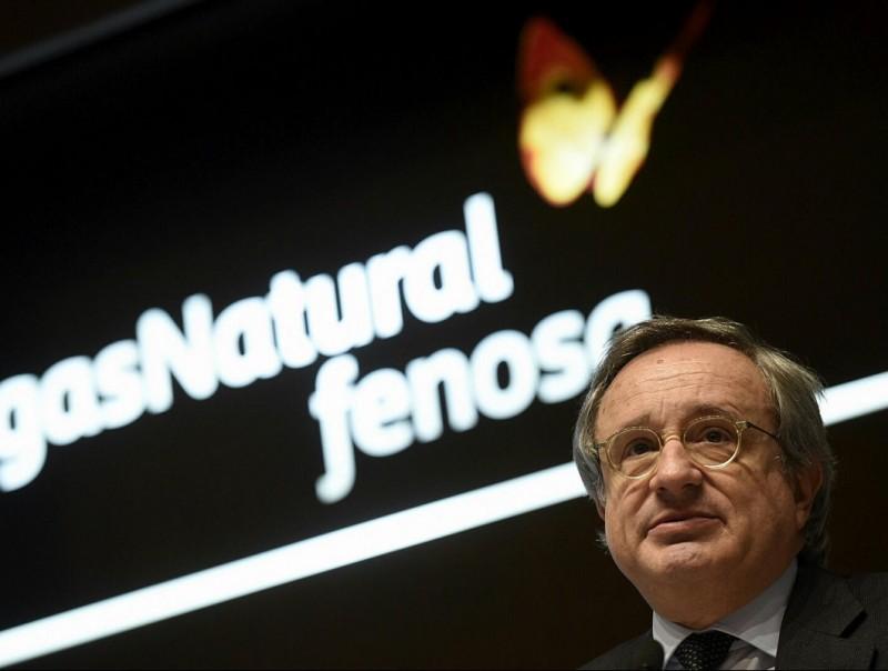 Rafael Villaseca, conseller delegat de Gas Natural Fenosa, en la presentació de resultats.  Foto:EFE