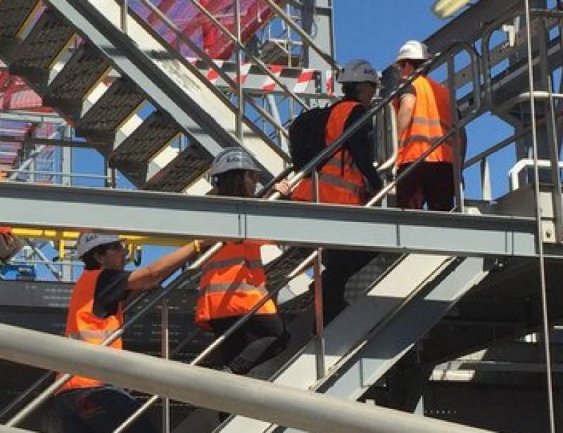 Treballadors en formació a la nova planta de sal de gran puresa de Súria IBERPOTASH