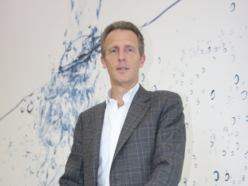 Xavier Tintoré, director general corporatiu de Fluidra.  FRANCESC MUÑOZ