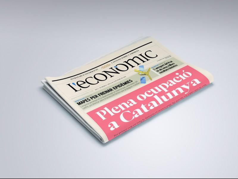 Una portada utòpica de L'Econòmic, que ens agradaria fer.  L'ECONÒMIC