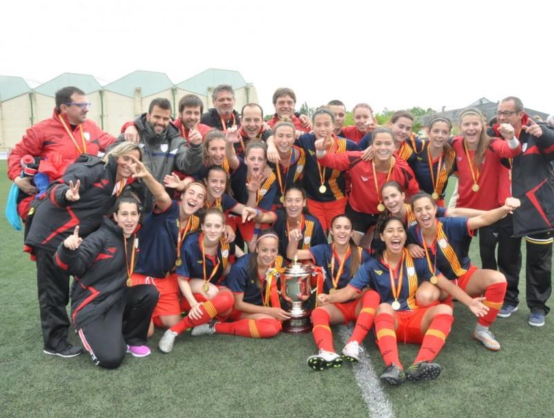 Catalunya, campiona a Mutilva FCF