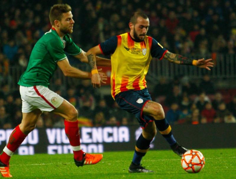 Aleix Vidal, en l'últim matx de la selecció J.C. LEÓN