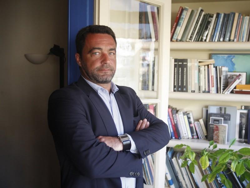 José Miguel Torres, CEO de Cederroth Distrex, a la seu de l'agència ICE, a Barcelona.  ORIOL DURAN