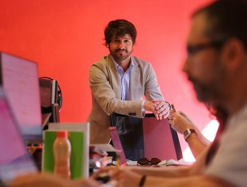 Eloy Herrero és director general de Tandem.  Foto:QUIM PUIG