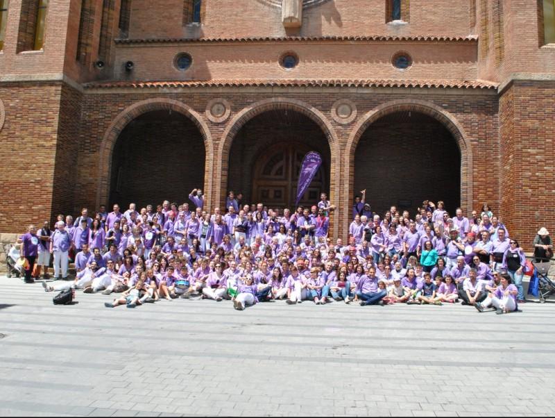 La colla Castellers de Cornellà en unes de les celebracions d'aquest any pel 25è aniversari EL PUNT AVUI