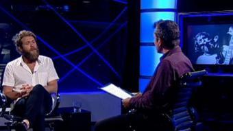 Steve Smyth with Barney Griffiths on El Punt Avui TV. /