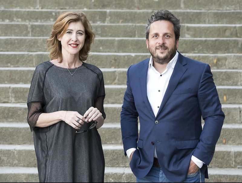 Josep Coll i Laura Urquizu lideren la tecnològica catalana.  JOSEP LOSADA