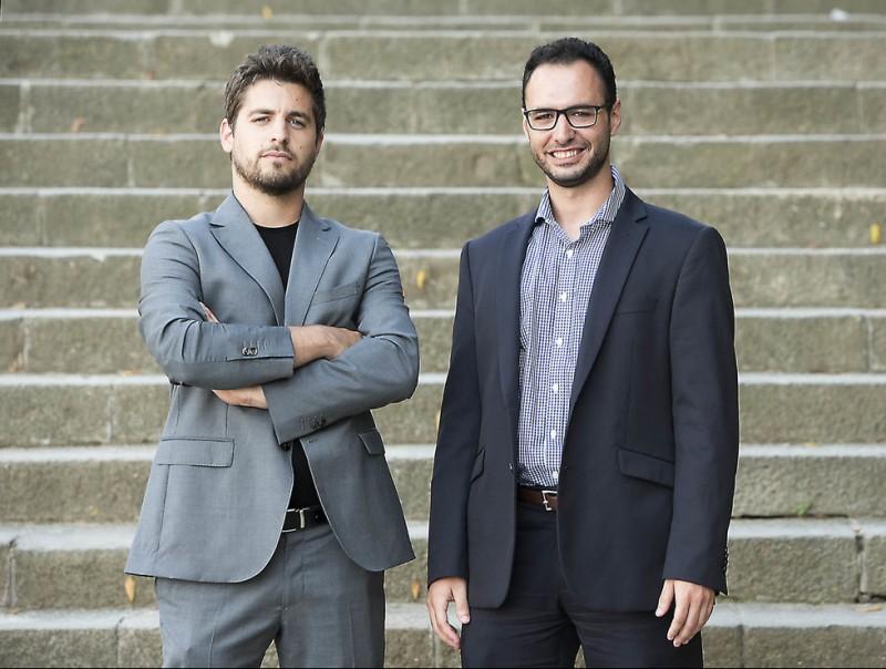 Xavi Silva i Àlex Gomar, codirectors generals d'HEMAV.  JOSEP LOSADA