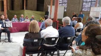 L'acte de presentació del llibre sobre l'antiga fàbrica EPN