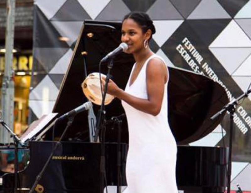 Mathilde Toussaint Quartet a una actuació ARXIU