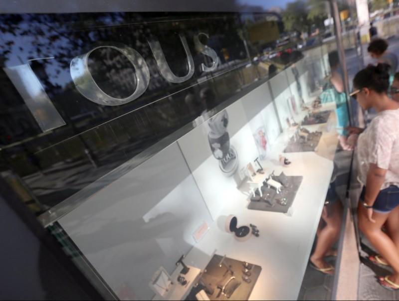 Tous té 500 botigues a tot el món Foto:A.SALAMÉ/ ARXIU