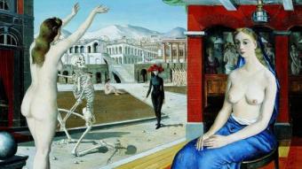 'L'Appel', de Paul Delvaux, que es veurà a la mostra d'arquitectura i sexualitat al CCCB FERNANDO MAQUIEIRA