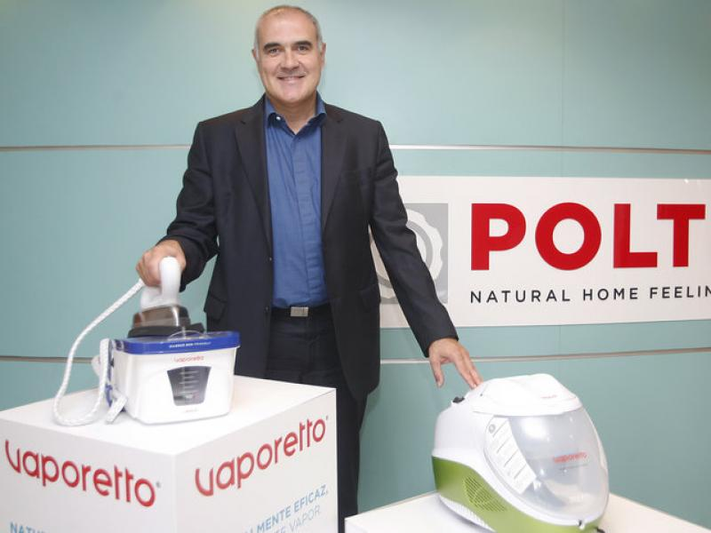 Rafael Román és el director general del fabricant d'electrodomèstics a Espanya i Portugal.  ORIOL DURAN