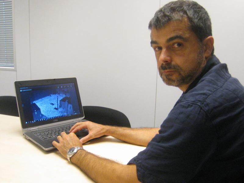 Anton Gomà, director general de l'empresa de Cervera, Ctrl4 Enviro.  ARXIU