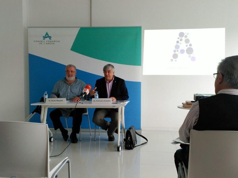 El nou protocol es va presentar ahir a Castellolí. INFOANOIA