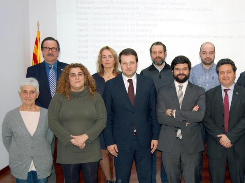 El nou comitè executiu del Comitè Olímpic Català, el dia de l'elecció Foto:UFEC