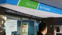 Una Oficina de Treball de la Generalitat