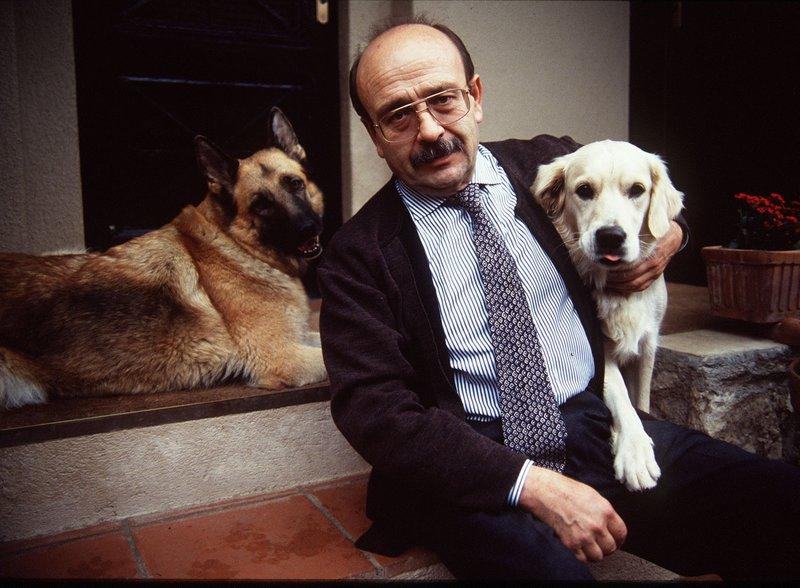 Manuel Vázquez Montalbán, en una imatge del 1994.