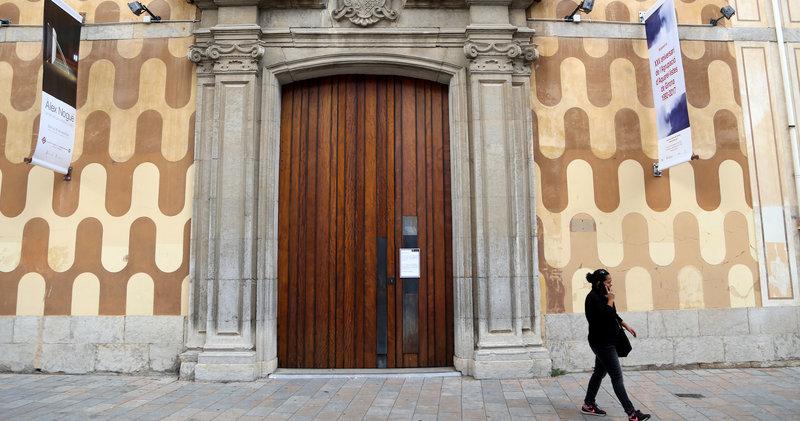 Imatge de la Casa de Cultura de Girona.