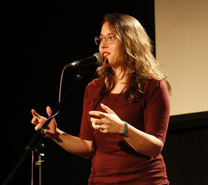 Imatge de Laia Noguera, que oferirà l'espectacle 'I tot ho fem com si visquéssim' a l'auditori de La Mercè.