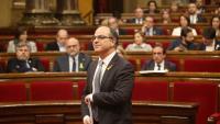 L'exconseller Jordi Turull, en una imatge del març al Parlament