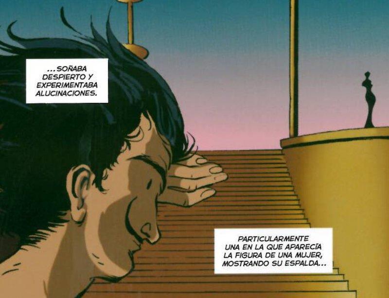 Imatge d'un fragment d'una vinyeta del còmic.