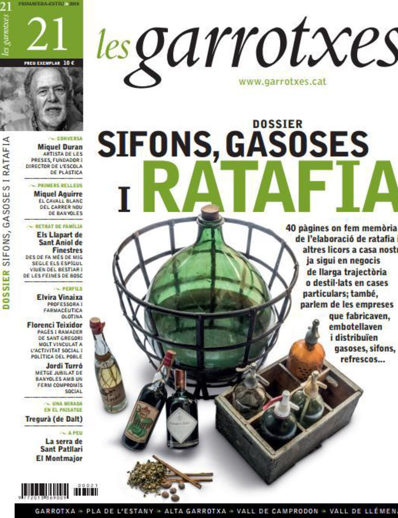 Imatge de la portada de la revista.