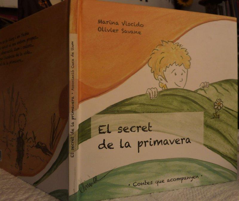 Imatge de la coberta d''El secret de la primavera'.