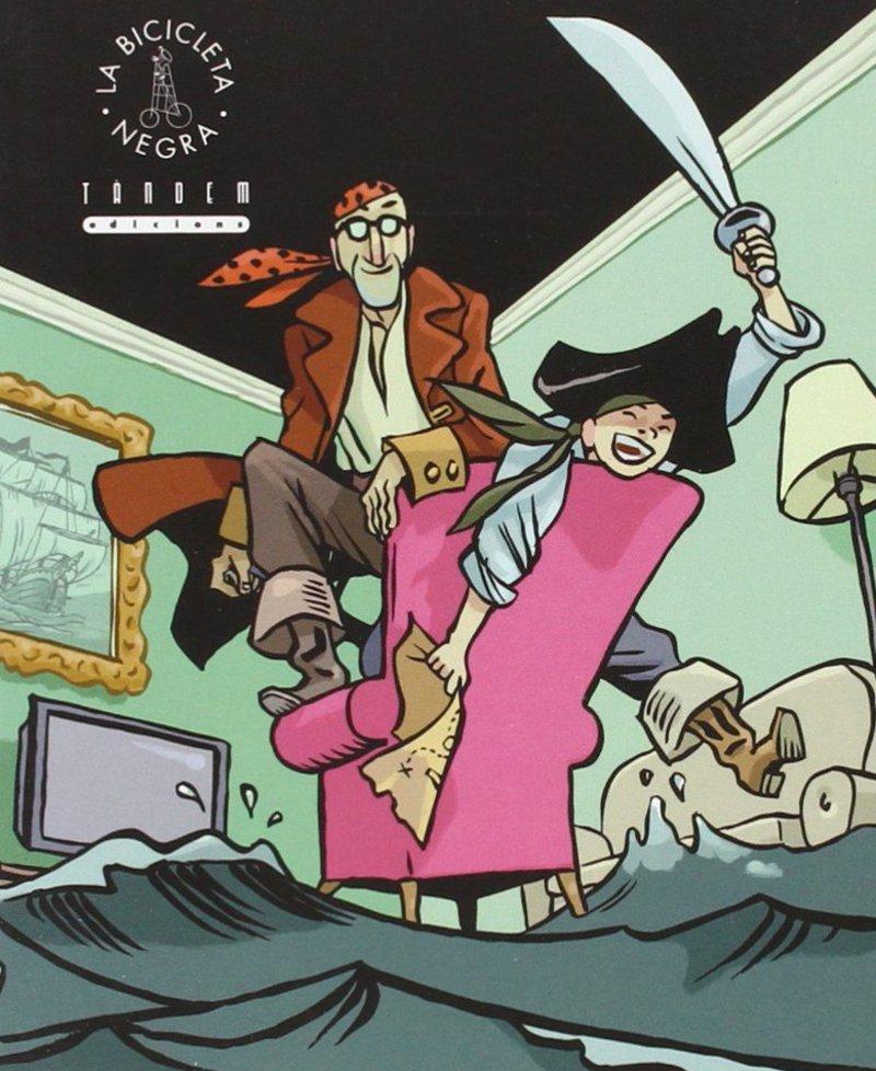 Imatge del dibuix de la portada del conte.