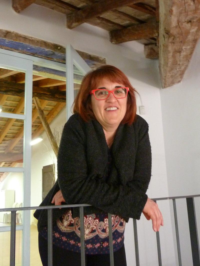 Montse Ayats és la presidenta de l'Associació d'Editors en Llengua Catalana ANNA AGUILAR.
