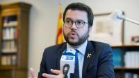 El vicepresident del govern, Pere Aragonès, en una entrevista recent