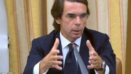 """Aznar es desvincula de la Gürtel: """"No he de demanar perdó per res"""""""
