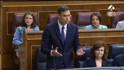 Sessió de control a Pedro Sánchez al Congrés espanyol
