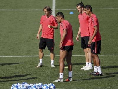 Els jugadors del Madrid ja pensen en la Champions