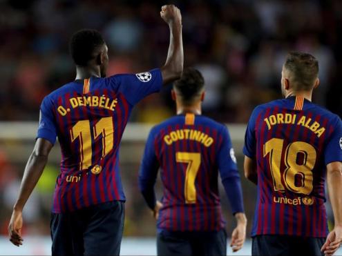 Dembélé suma cinc gols en sis partits