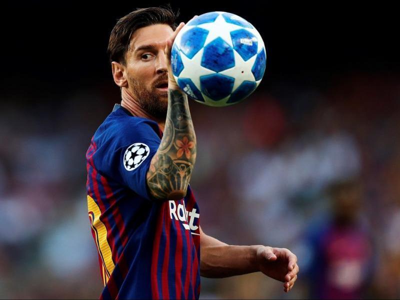 Messi agafa la Champions