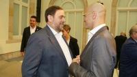 La defensa de Junqueras i Romeva ha recorregut al TC la seva suspensió com a diputats