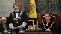El president del CGPJ, Carlos Lesmes, a l'apertura de l'any judicial