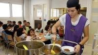 Un menjador d'una escolar de Tàrrega