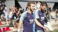 Samper en un entrenament
