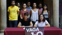 Universitats per la República va anunciar ahir la vaga estudiantil per l'1-O