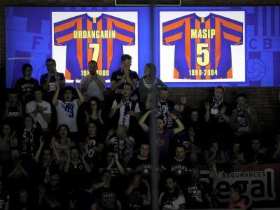 L samarreta d'Urdangarin al Palau Blaugrana.