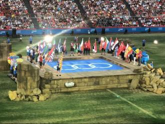 La cerimònia de clausura de Tarragona 2018