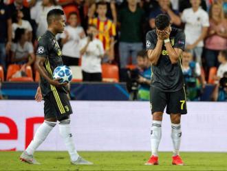 Ronaldo va abandonar Mestalla plorant